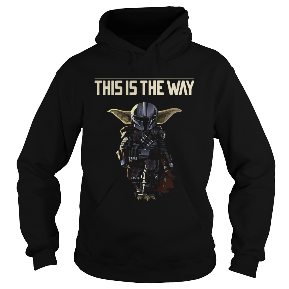 Baby Yoda The Mandalorian This Is The Way  Hoodie