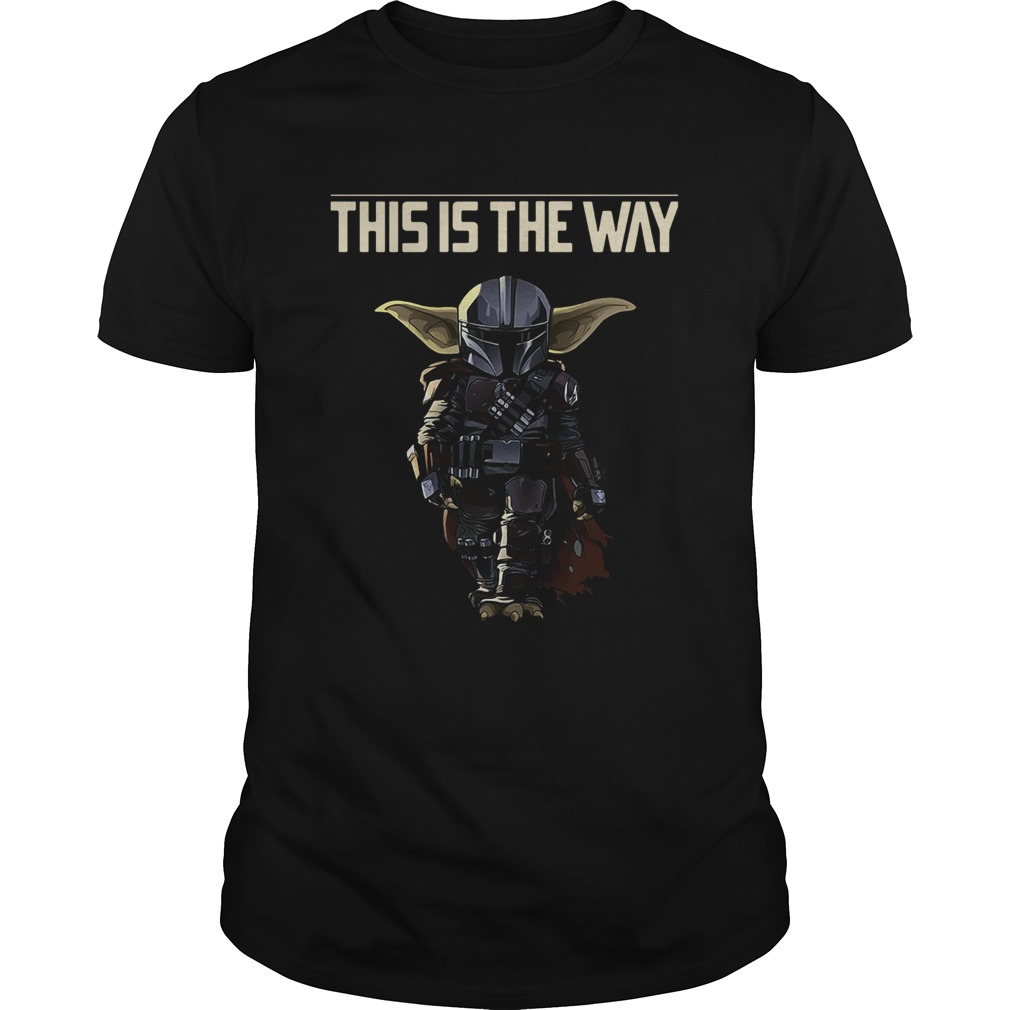 Baby Yoda The Mandalorian This Is The Way  Unisex