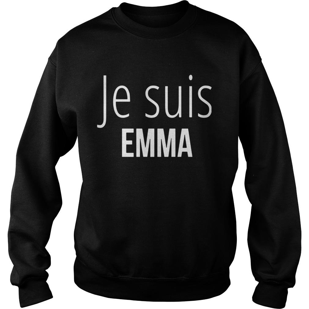 Je Suis Emma  Sweatshirt