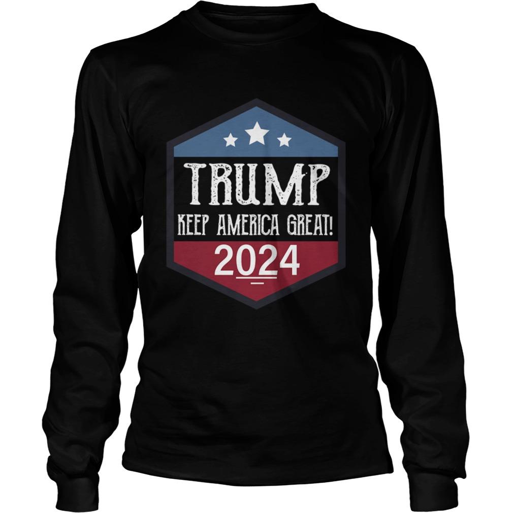 Trump keep America great 2024  LongSleeve