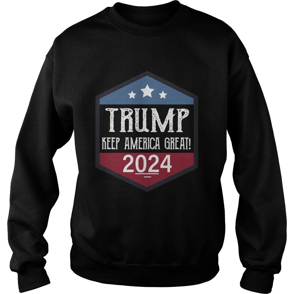 Trump keep America great 2024  Sweatshirt