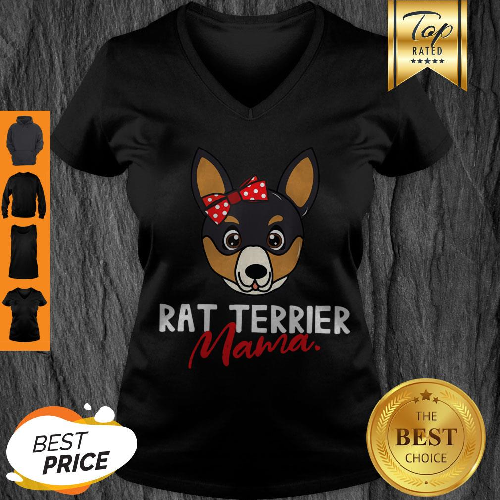 Awesome Rat Terrier Mom Mama Dog Lover