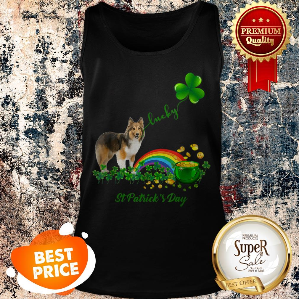 Mad Over Shirts Never Trust Someone Who Doesnt Like Dogs Unisex Premium Tank Top