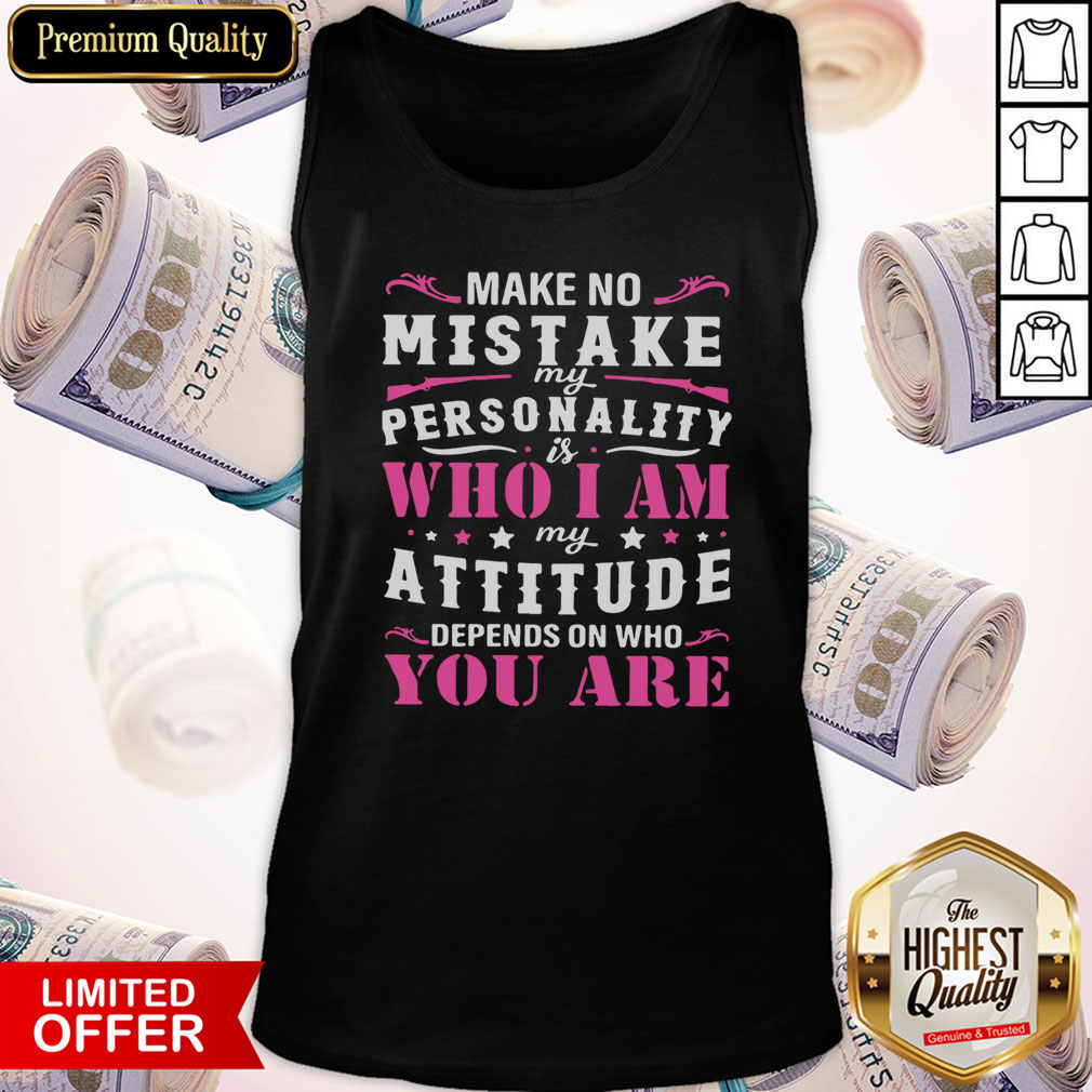 Mad Over Shirts What Funny Attitude Unisex Premium Tank Top