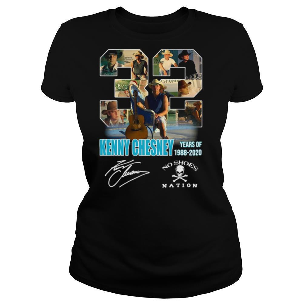 32 kenny chesney years of 1988 2020 no shoes nation ...