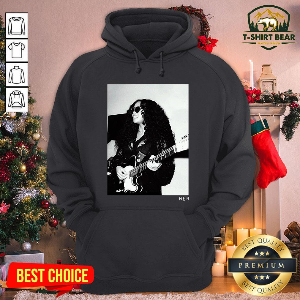 Original H.E.R. Girls With Guitars Hoodie - Design by T-shirtBear.com