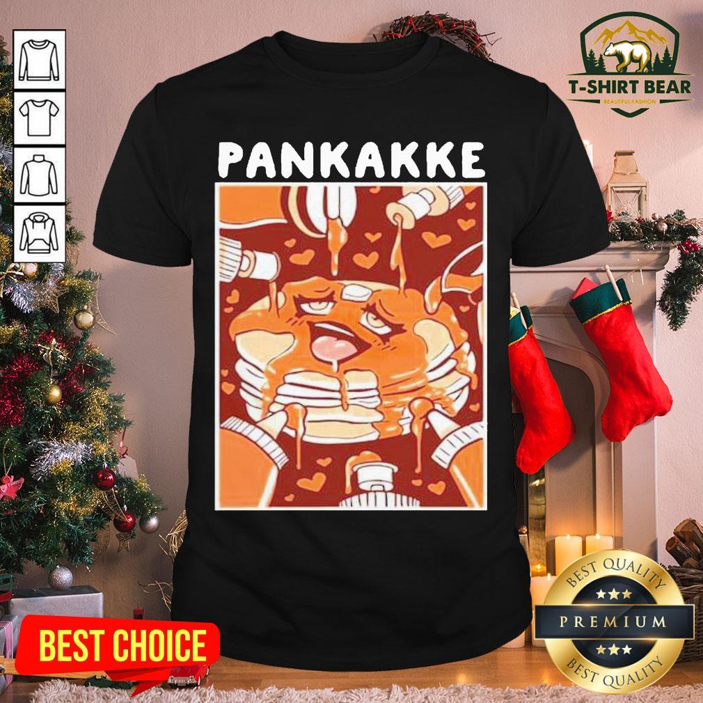 Premium Pankakke Shirt Ahegao Pancake Shirt - Design by T-shirtBear.com