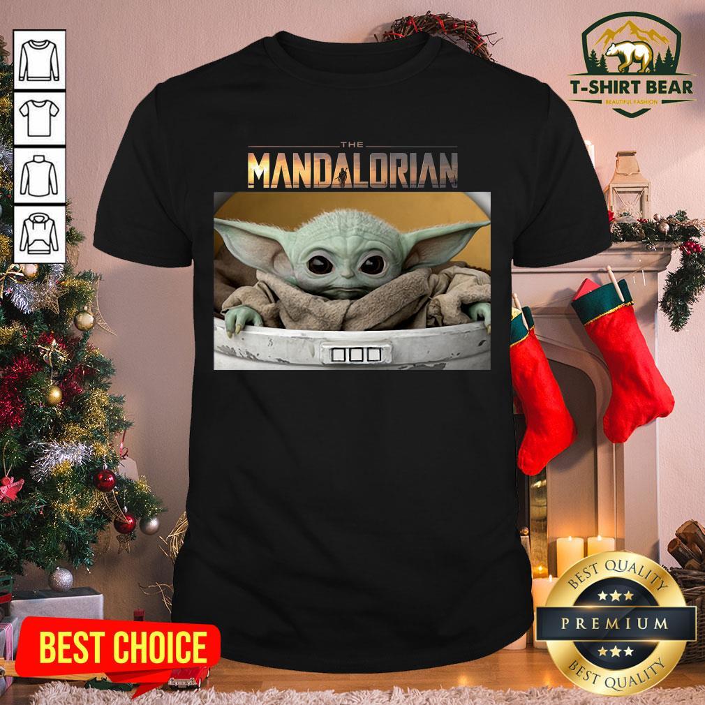 Pretty Star Wars The Mandalorian The Child The Baby Yoda Shirt - Design by T-shirtBear.com