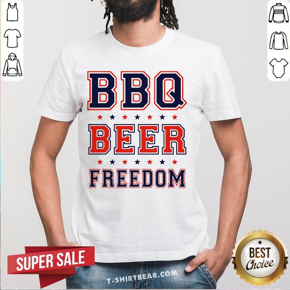 Original BBQ Beer Freedom Shirt - Design by T-shirtBear.com