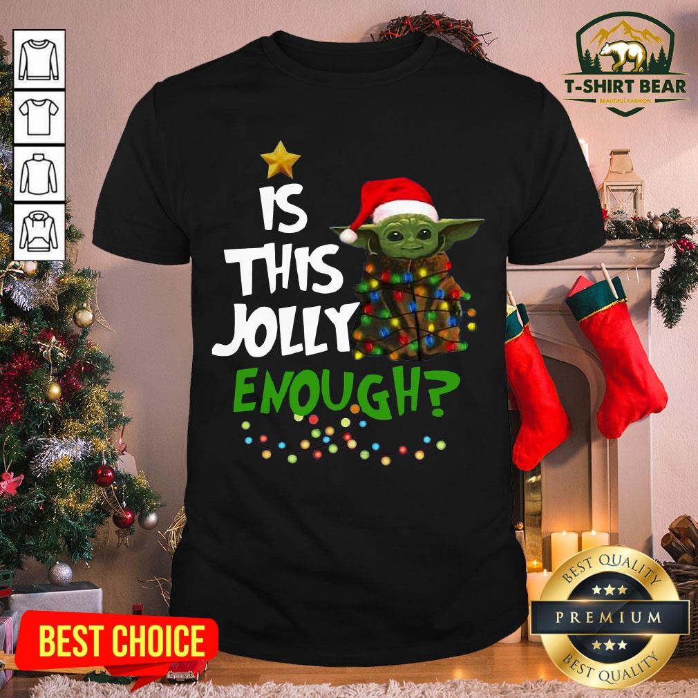 Hot Santa Baby Yoda Is This Jolly Enough Christmas Shirt - Design by T-shirtBear.com
