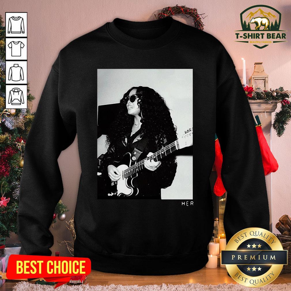Original H.E.R. Girls With Guitars Sweatshirt - Design by T-shirtBear.com