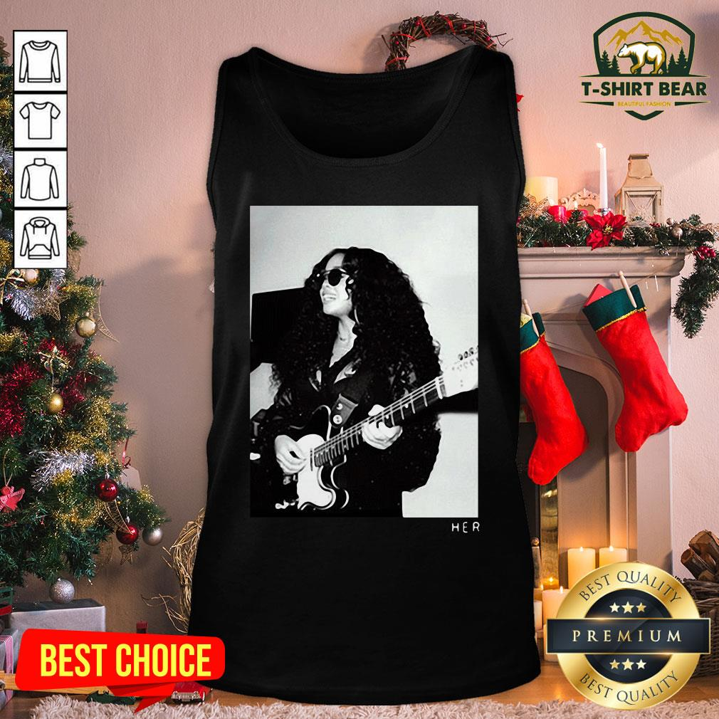 Original H.E.R. Girls With Guitars Tank Top - Design by T-shirtBear.com