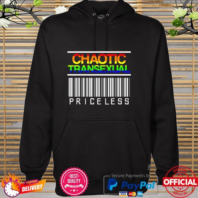 Chaotic LGBT Pride Month Transexual LGBTQIA LGBTQ Shirt hoodie