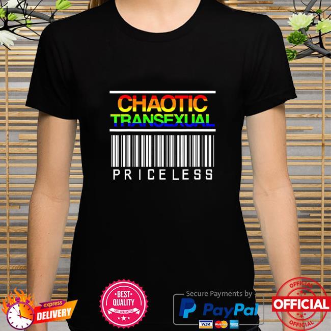 Chaotic LGBT Pride Month Transexual LGBTQIA LGBTQ Shirt