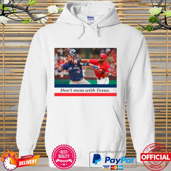 Odor bautista don't mess with Texas Hoodie