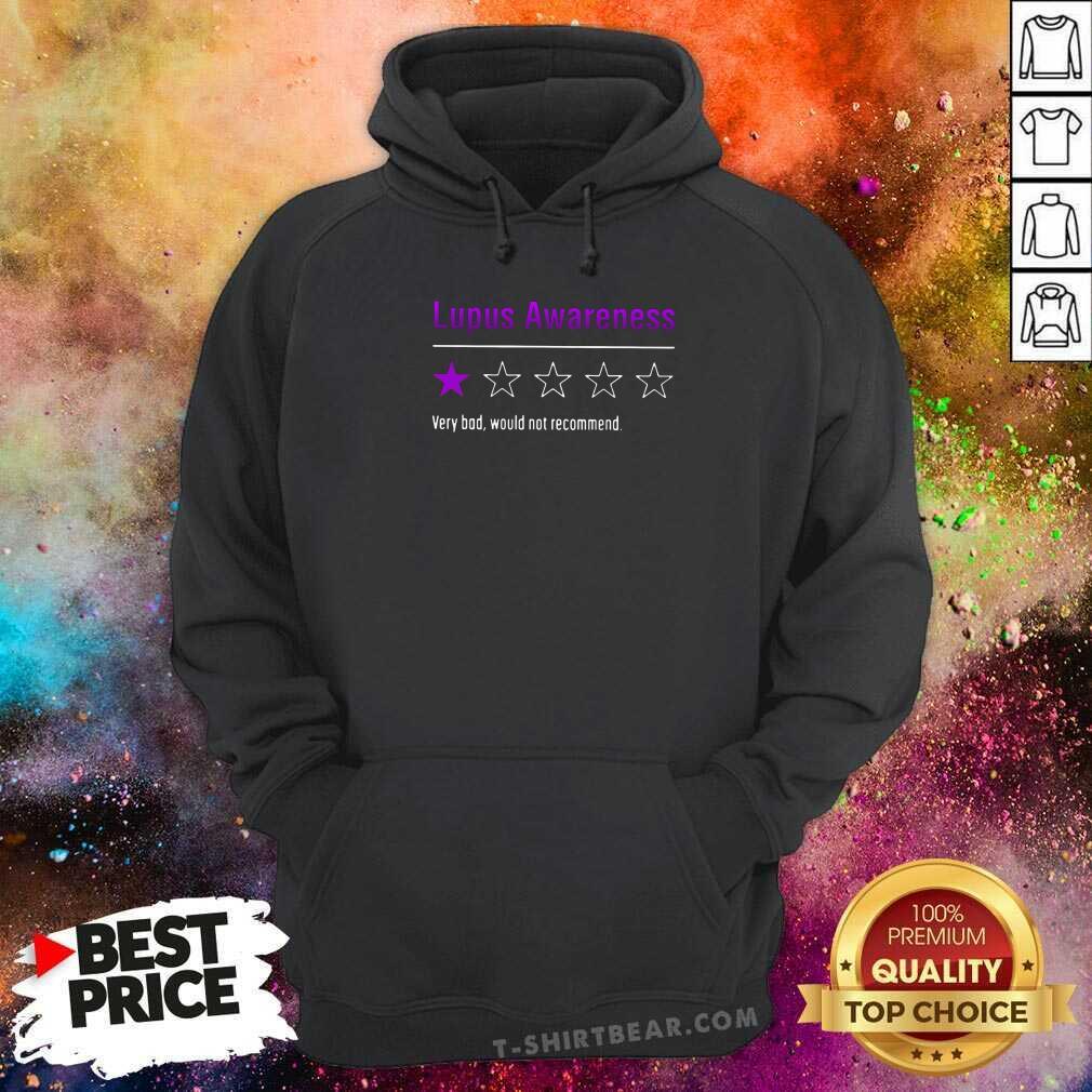 Original Lupus Awareness Very Bad Hoodie - Design by T-shirtbear.com