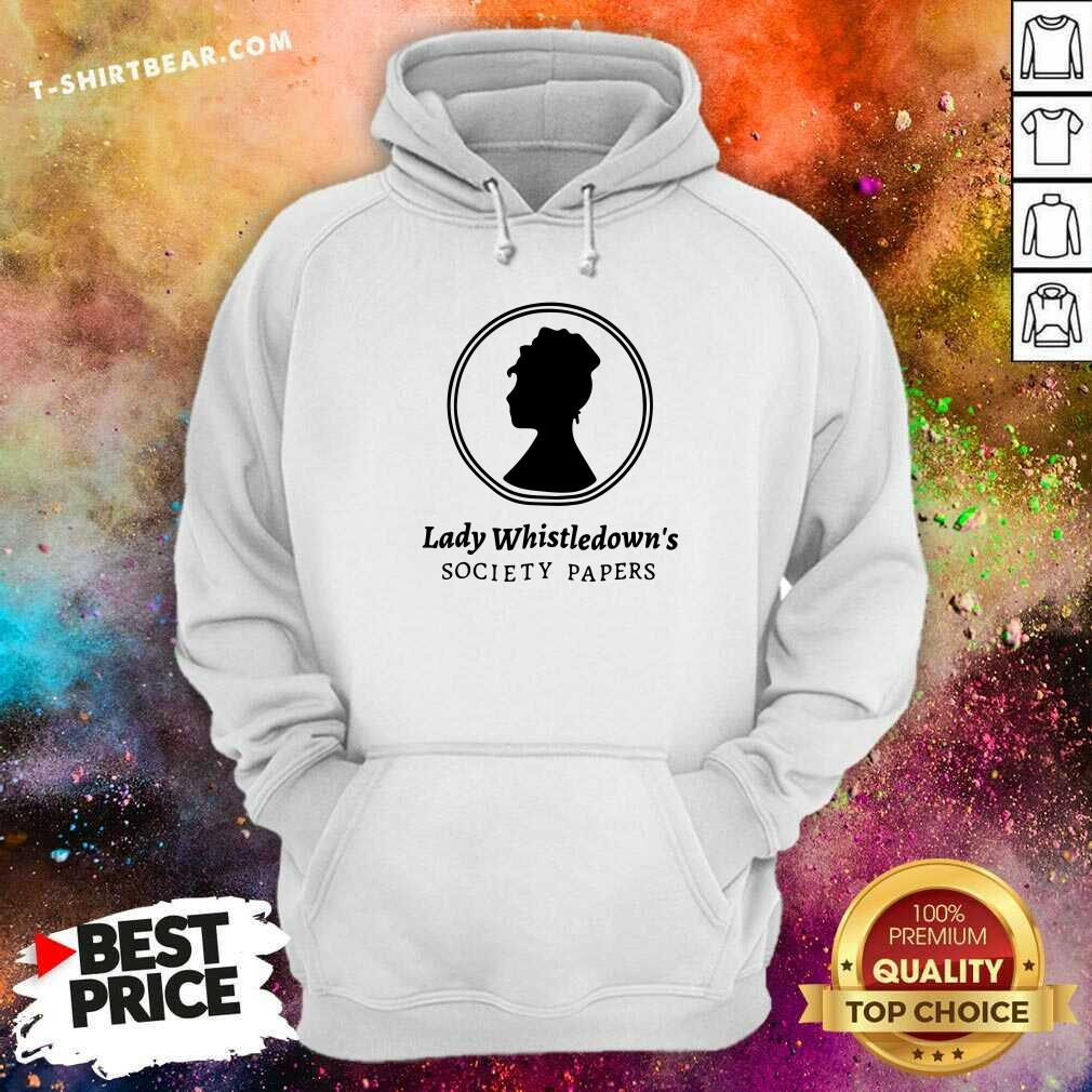Premium Lady Whistledown Society Papers Hoodie