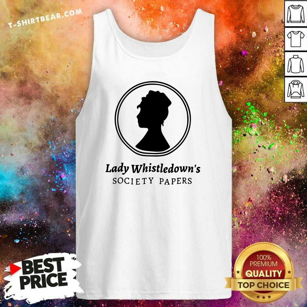 Premium Lady Whistledown Society Papers Tank Top