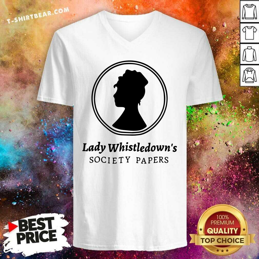 Premium Lady Whistledown Society Papers V-neck