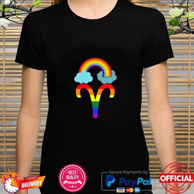 Proud Aries Astrology LGBTQ Zodiac Sign Horoscope Shirt