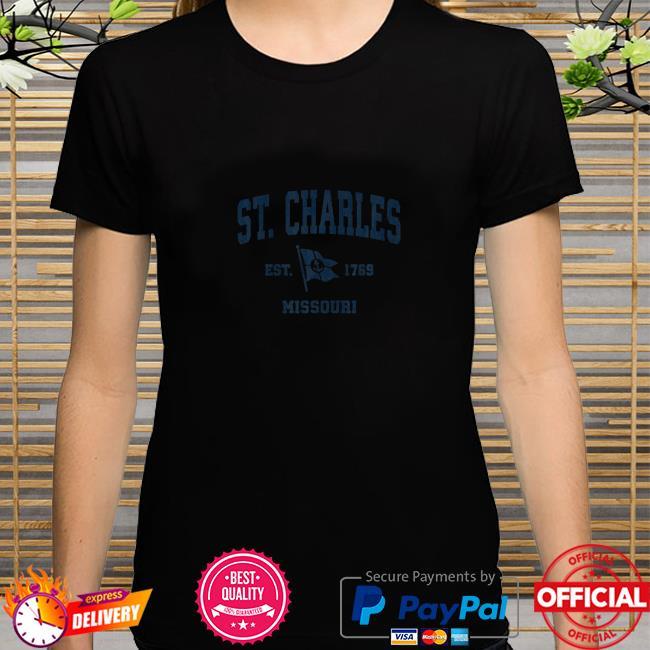 St. Charles MO Vintage Sports Boat Anchor Shirt