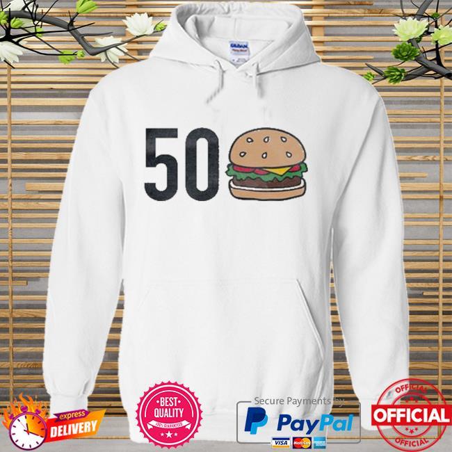 50 burgers Hoodie