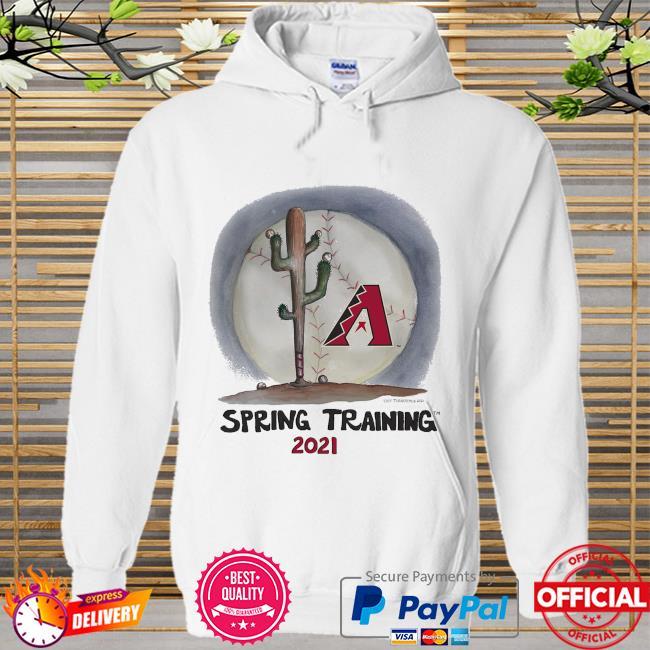 Arizona Diamondbacks Tiny Turnip Youth 2021 Spring Training Hoodie