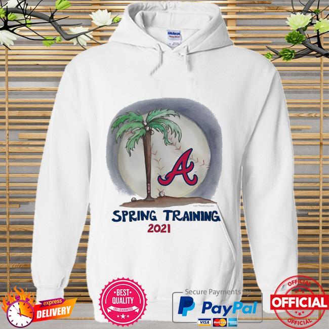 Atlanta Braves Tiny Turnip Youth 2021 Spring Training Hoodie