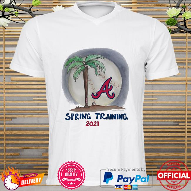Atlanta Braves Tiny Turnip Youth 2021 Spring Training shirt