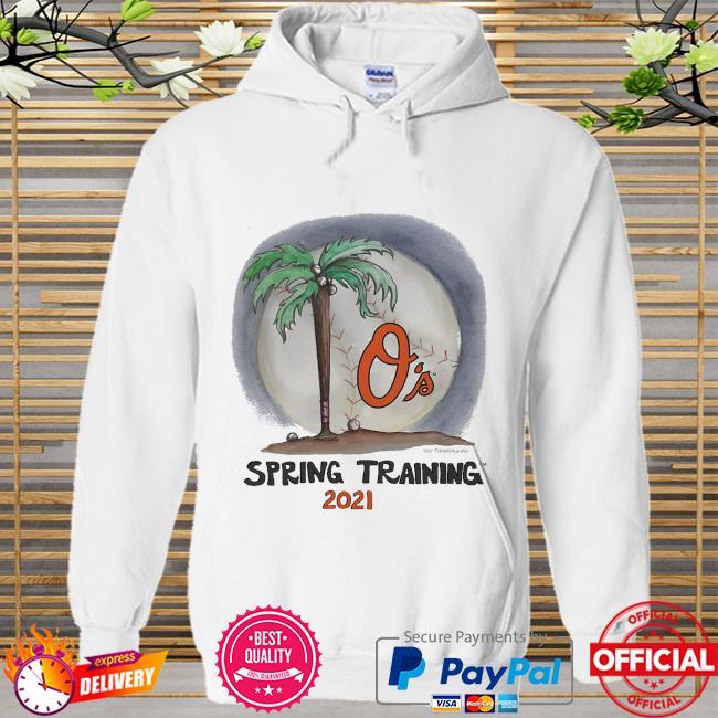 Baltimore Orioles Tiny Turnip Youth 2021 Spring Training Hoodie