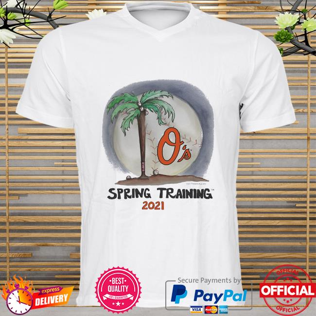 Baltimore Orioles Tiny Turnip Youth 2021 Spring Training shirt