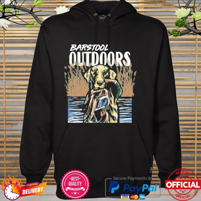 Barstool outdoors duck hunt pocket hoodie