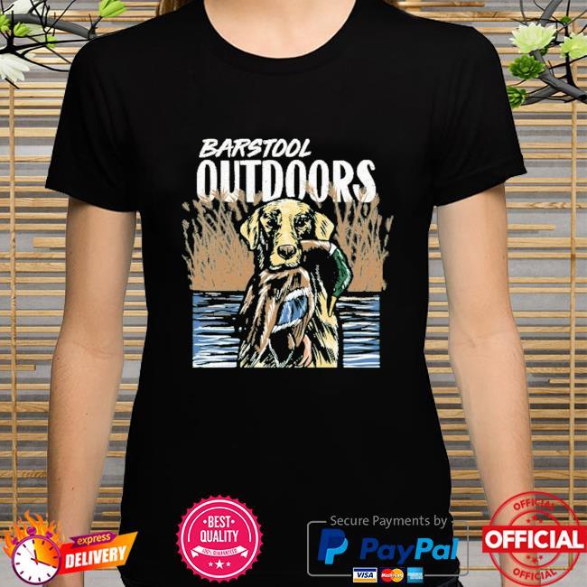 Barstool outdoors duck hunt pocket shirt
