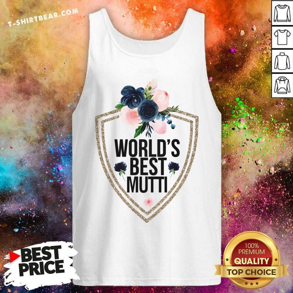 Beautiful Worlds Beest Mutti Flower Tank Top - Design by T-shirtbear.com