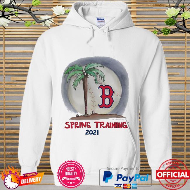 Boston Red Sox Tiny Turnip Infant 2021 Spring Training Hoodie