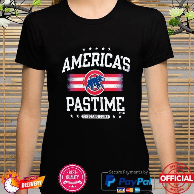 Chicago Cubs America's Pastime shirt