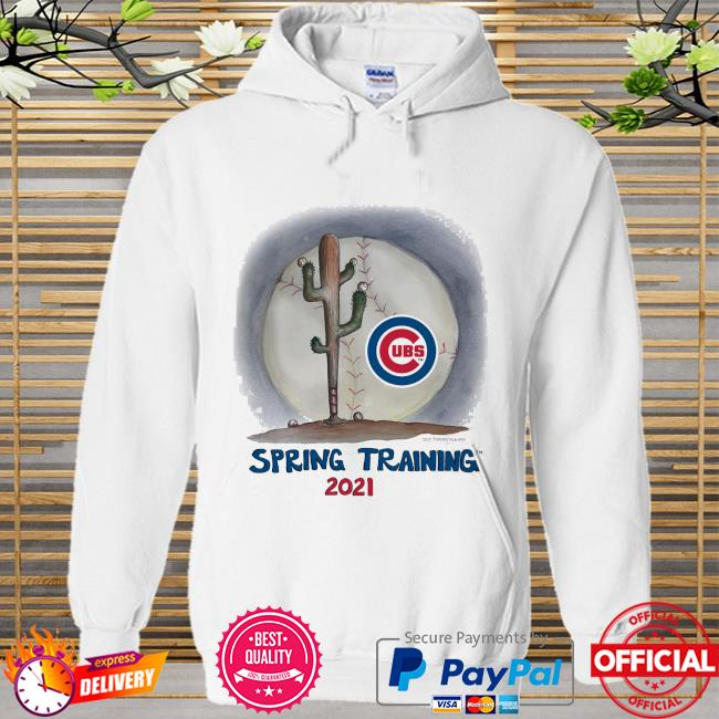 Chicago Cubs Tiny Turnip Youth 2021 Spring Training Hoodie