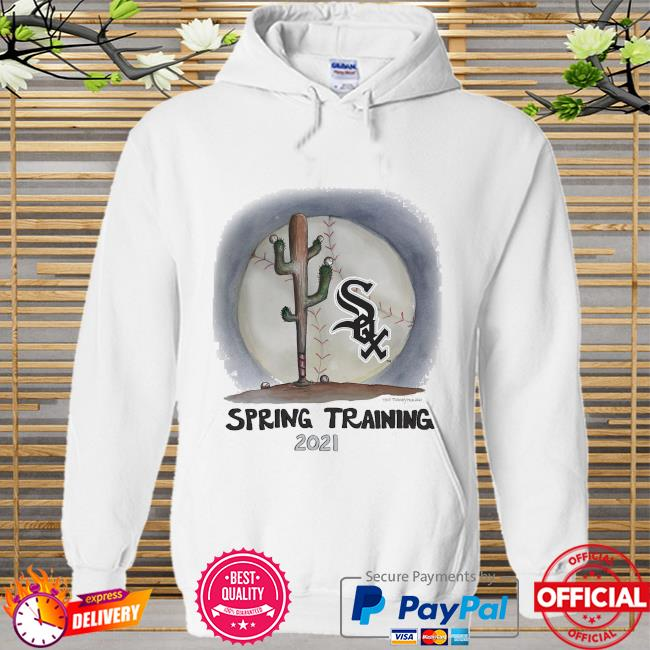 Chicago White Sox Tiny Turnip Youth 2021 Spring Training Hoodie