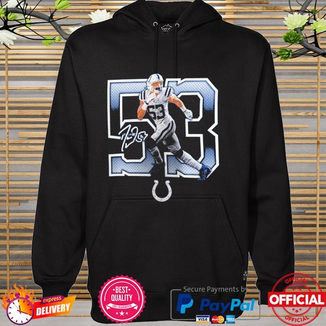 Darius Leonard Indianapolis Colts Powerhouse signature hoodie