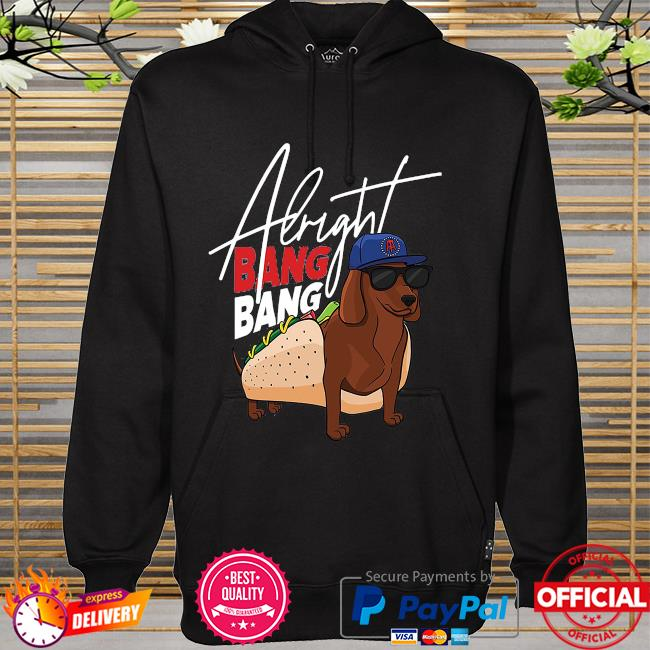 Dog walk pocket albright bang bang hoodie