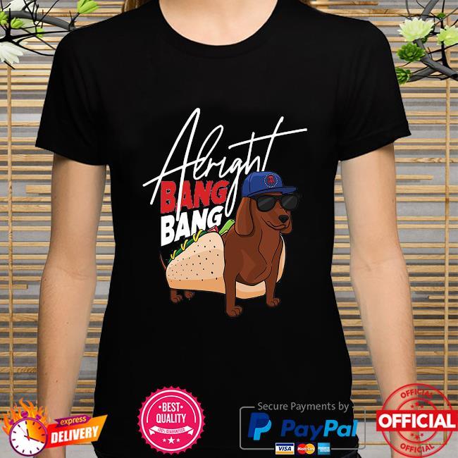 Dog walk pocket albright bang bang shirt