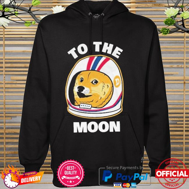 Dogecoin To the moon hoodie