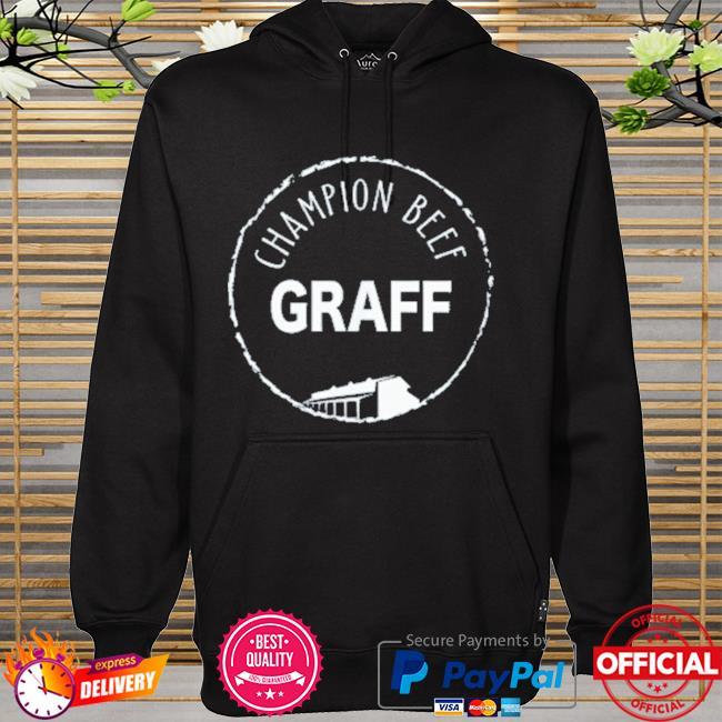 Graff champion beef hoodie