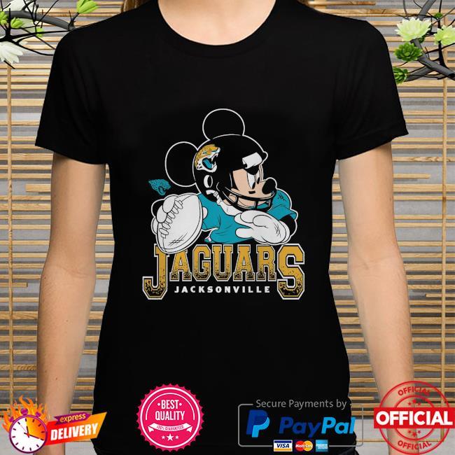 Jacksonville Jaguars Disney Mickey shirt