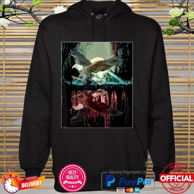 Jungle aesthetic hawk hoodie