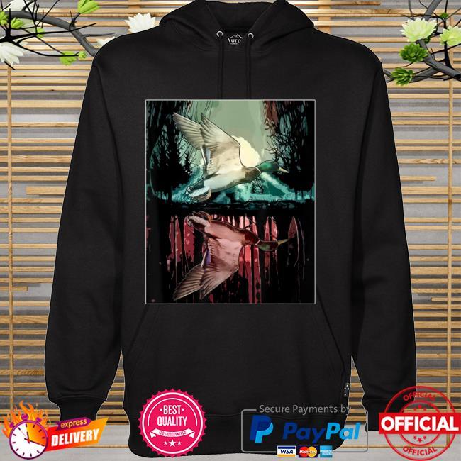 Jungle aesthetic mallard hoodie