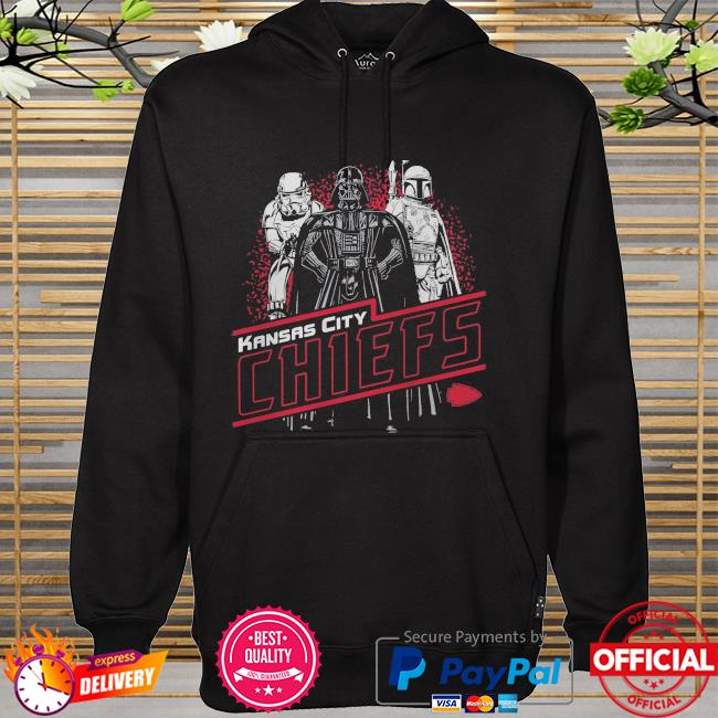 Kansas City Chiefs Empire Star Wars hoodie