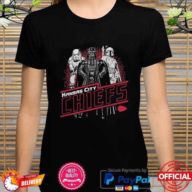 Kansas City Chiefs Empire Star Wars shirt
