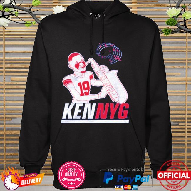 Kenny Golladay Kenny G saxophone hoodie