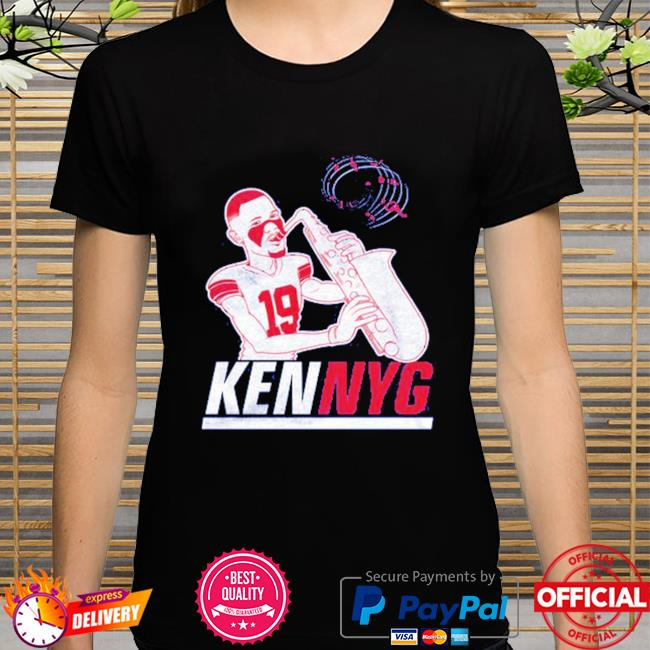 Kenny Golladay Kenny G saxophone shirt